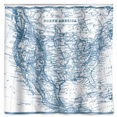 Kimmel Map Shower Curtain