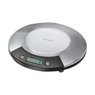 Electronic Kitchen Scale in Stainless with Black Accents