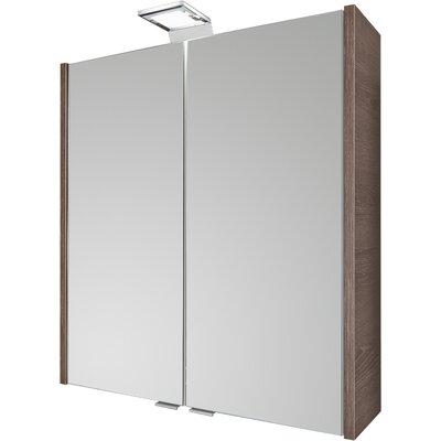 Fackelmann 60 x 65 cm Spiegelschrank Malua