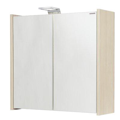 Fackelmann 60,5 x 63,5 cm Spiegelschrank Kayo