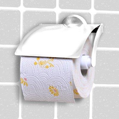 Fackelmann Wandmontierter Toilettenpapierhalter Vision