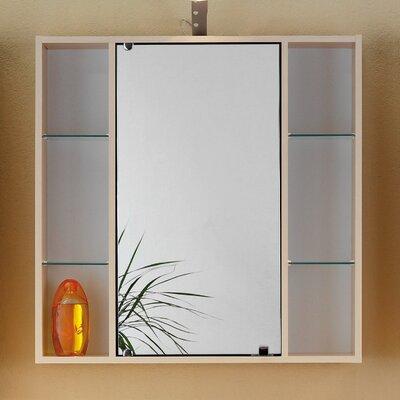 Fackelmann 65 x 65 cm Spiegelschrank Lilly