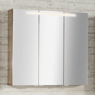 Fackelmann 73,5 x 79,5 cm Spiegelschrank Piuro