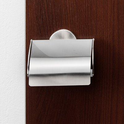 Fackelmann Wandmontierter Toilettenpapierhalter Fusion