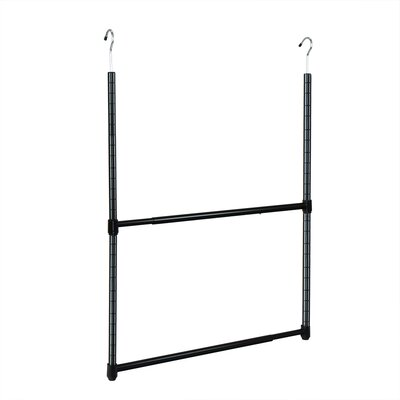 2 tier hanging organizer wayfair. Black Bedroom Furniture Sets. Home Design Ideas