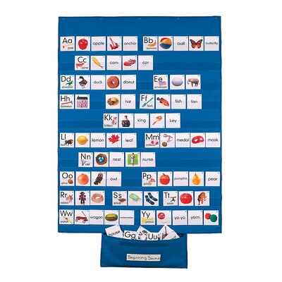 Patch Products Standard-Size Wall Pocket Chart