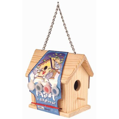 Toysmith Paint-A-Birdhouse