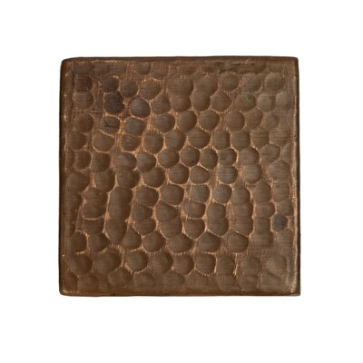 "Surface 3"" x 3"" Metal FieldTile in Oil Rubbed Bronze"