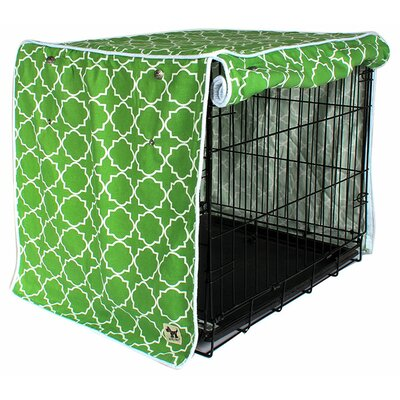 "Kurt Title Track Dog Crate Cover Size: 33"" H x 30"" W x 48"" D"