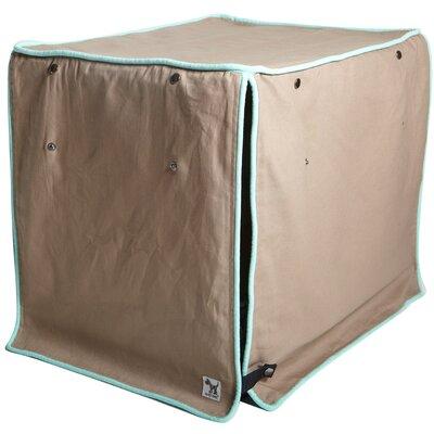 "Kurt Wild Horses Dog Crate Cover Size: 33"" H x 30"" W x 48"" D"
