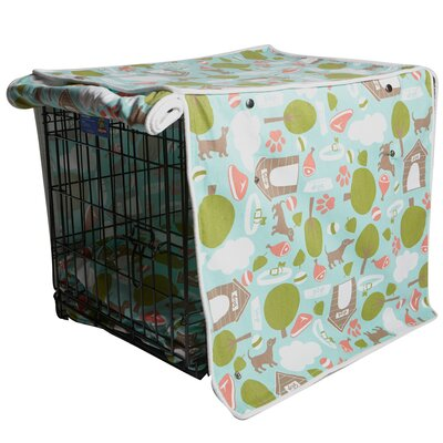 "Kurt Bleecker Street Dog Crate Cover Size: 21"" H x 18"" W x 24"" D"