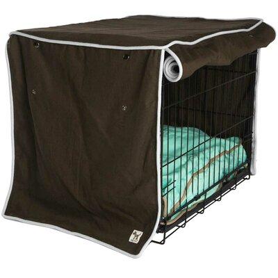 "Kurt Landslide Dog Crate Cover Size: 27"" H x 24"" W x 36"" D"