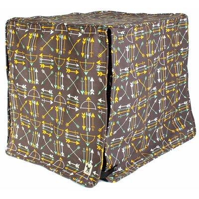 "Kurt Lion's Rawr Dog Crate Cover Size: 21"" H x 18"" W x 24"" D"