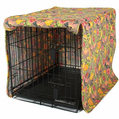 "Kurt Time After Time Dog Crate Cover Size: 24"" H x 21"" W x 30"" D"