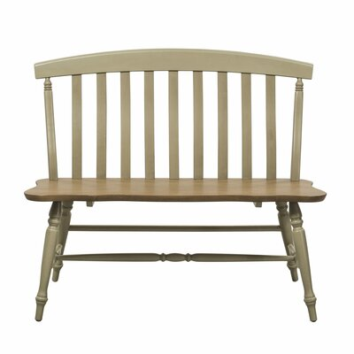 Al Fresco Bench Color: Taupe