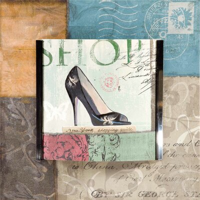 Yosemite Home Decor Revealed Art High Heel Obsession II Graphic Art on Wrapped Canvas