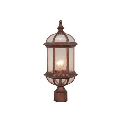 Vaxcel Chateau 1 Light Outdoor Post Light