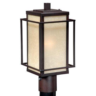 Vaxcel Robie 1 Light Outdoor Post Light