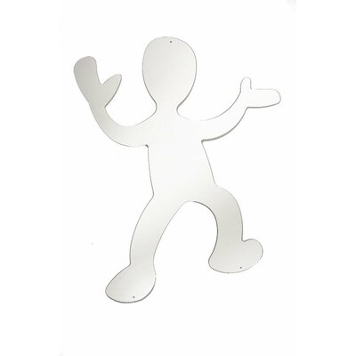 """Whitney Brothers 36"""" H x 31.25"""" W Dancing Boy Silhouette Mirror"""