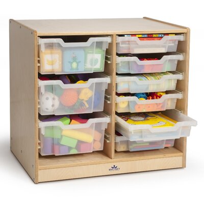 Whitney Brothers Double 9 Compartment Cubby