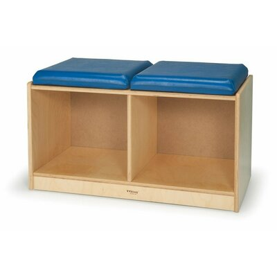Whitney Brothers Kids Bench with Storage Compartment