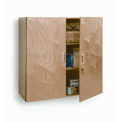 Whitney Brothers Lockable Wall Cabinet