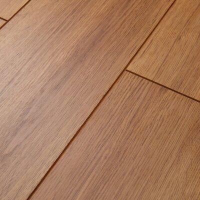 Revolutions 5'' x 51'' x 8mm Oak Laminate Flooring in Honeytone