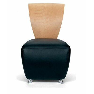 Bobo Contemporary Leather Lounge Chair