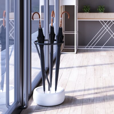 Gigi Umbrella Stand Finish: Black