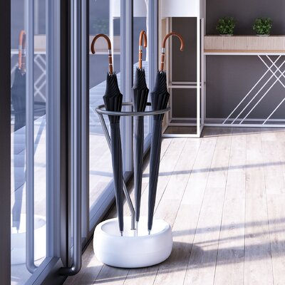 Gigi Umbrella Stand Finish: Gray