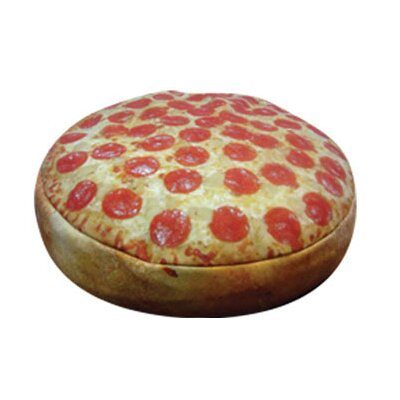 Dogzzzz Round Pizza Pet Bed