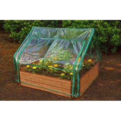 Extendable 4 Ft. W x 4 Ft. D Mini Greenhouse