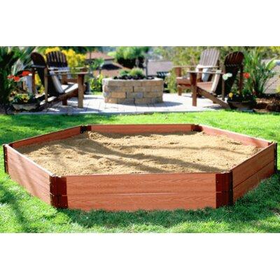 One Inch Series 8' W Hexagon Sandbox