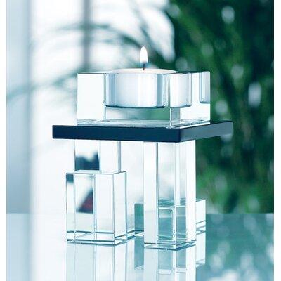 Aynsley China Deco Single Votive Crystal Candleholder