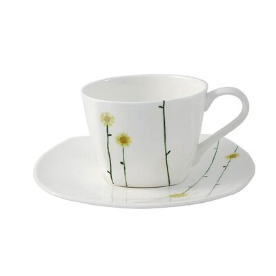 Aynsley China Daisy Chain Tea Cup and Saucer
