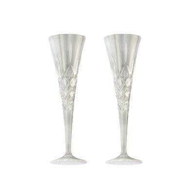 Aynsley China Galway Longford 8cm Stemware Romance Flute Glass