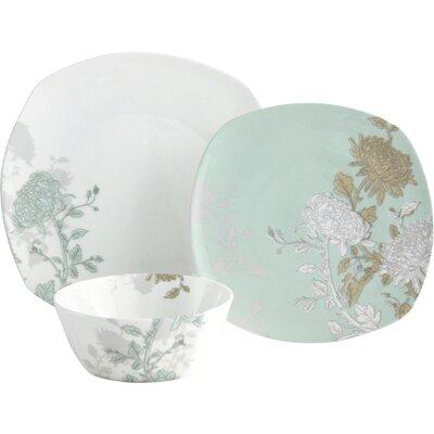 Aynsley China Cambridge 12 Piece Porcelain Dinnerware Set