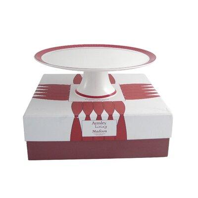 Aynsley China Madison Bone China Footed Cake Stand