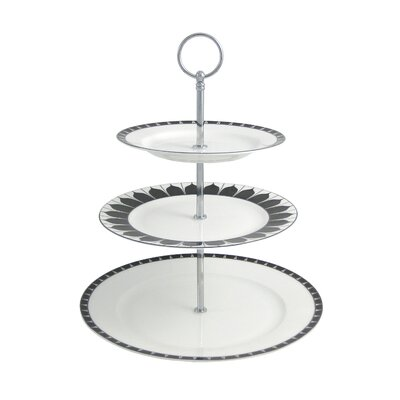 Aynsley China Mozart Bone China 3 Tier Cake Stand