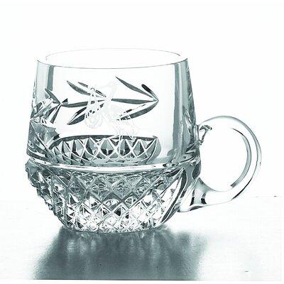 Aynsley China Galway Novelty 8cm Christening Mug in Crystal