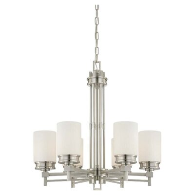 Nuvo Lighting Wright 6 Light Chandelier