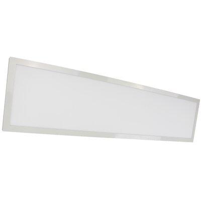 37 Watt Flat Panel LED Semi Flush Mount Bulb Color Temperature: 3500K