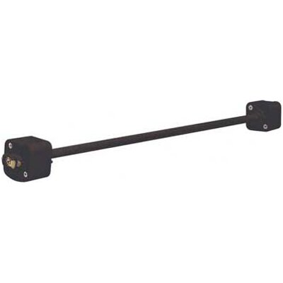 """Nuvo Lighting 36"""" Track Light Extension Wand in Black"""
