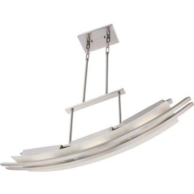 Nuvo Lighting Trax 3 Light Kitchen Island Pendant