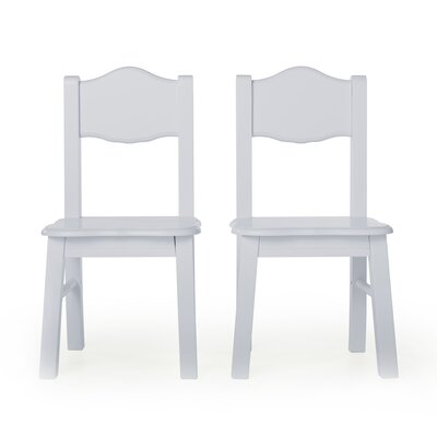 Classic Extra Kids Chair Color: Gray