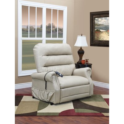 36 Series Power Lift Assist Recliner Upholstery: Suede Crypton - Harlow, Moveable Infrared Heat: No, Vibration and Heat: 4 Vib/Heat
