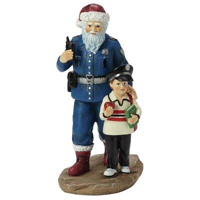 Officer S. Claus Figurine