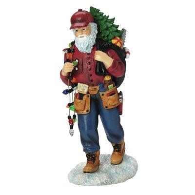 Handyman Santa Figurine