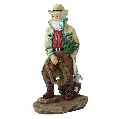 Southwest Santa Figurine