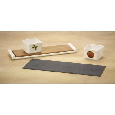 Celebrations Serve In Style Bamboo Cutting Board